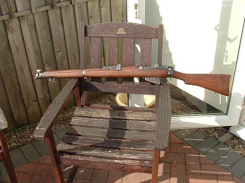My New 1916 SMLE