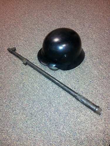 Mystery US rifle barrel