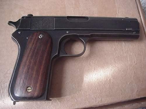 WWI British-proofed Colt 1903  Pocket Model .38ACP pistol