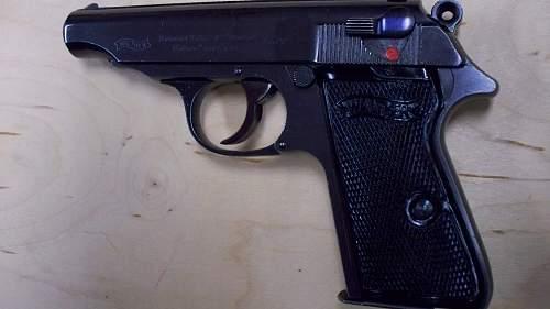 WTK:  Walther PP .22lr (pre War) w/ lanyard loop ?