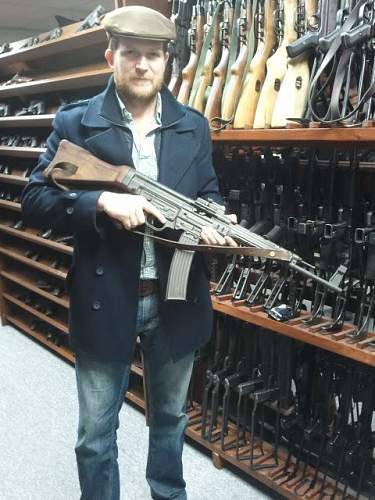 Massive collection of guns, WWII and modern.