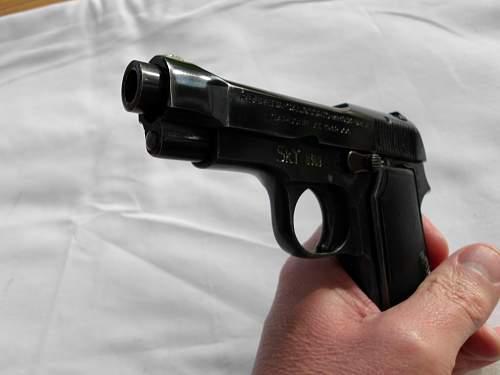 Finnish Marked Beretta M34 Pistol