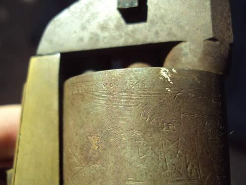 Colt navy revolver made in italy ??