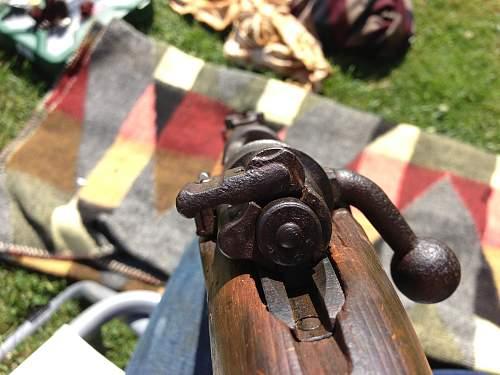 Found a Mauser K98k