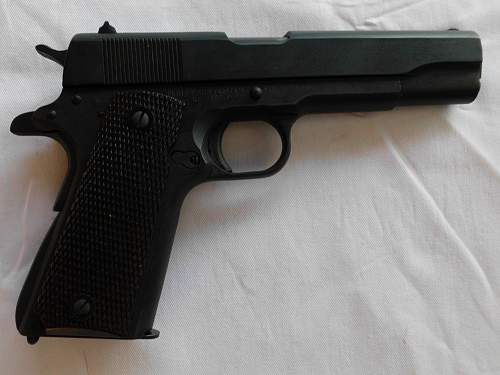 Remington Rand M1911A1.45 ACP and Boyt Holster