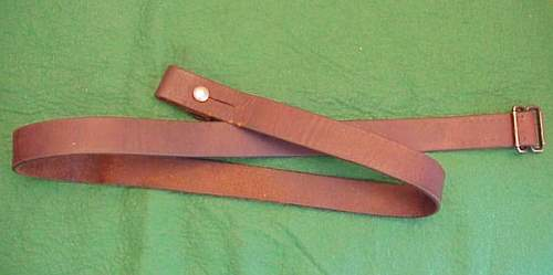 Here's some hard to find/scarce/rare, sword and rifle slings I have.
