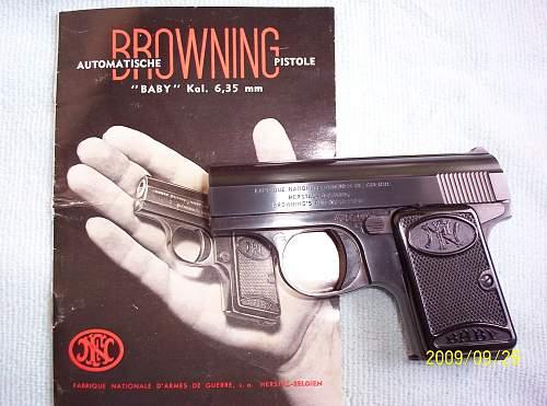 Belgian FN Baby 6,35mm