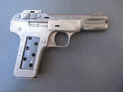 Got my first pistol! -FN 1900