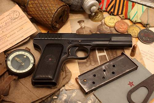 Tokarev TT30 Pistol