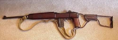 M1A1 Carbine that saw Combat