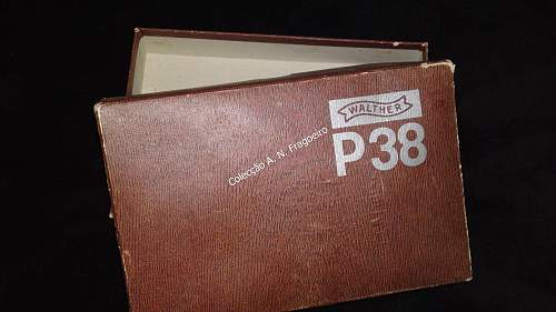 Walther P38 case of issue