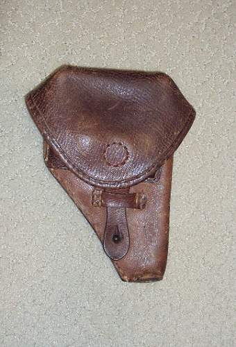 iIS THIS A GERMAN HOLSTER ???