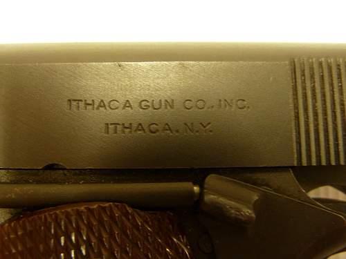 My Ithaca M1911A1