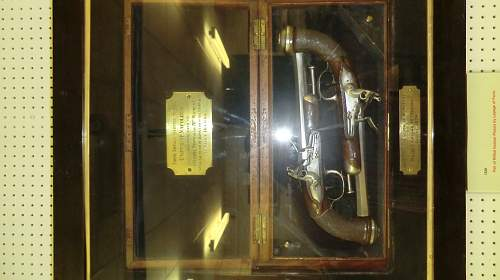 Pair of Napoleon's flintlock pistols