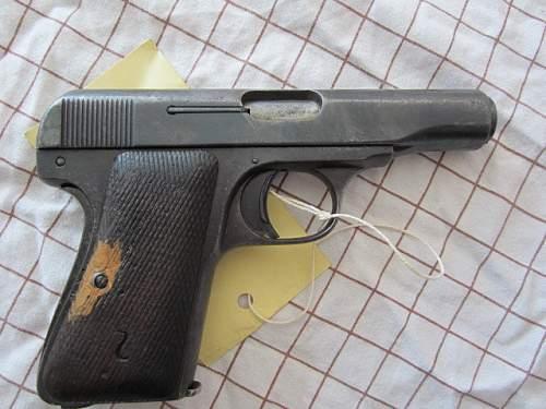 DWM Model 22 Pocket Pistol