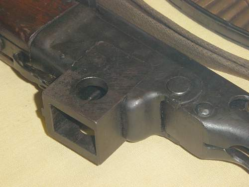 Ultra rare PPSh41: German 9mm conversion