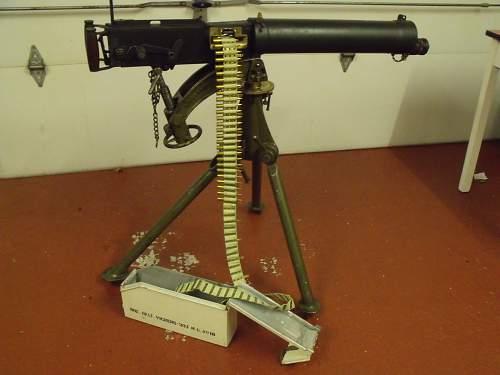 Vickers Machine Guns