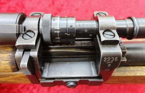 Is this ZF41 scope mount base original?