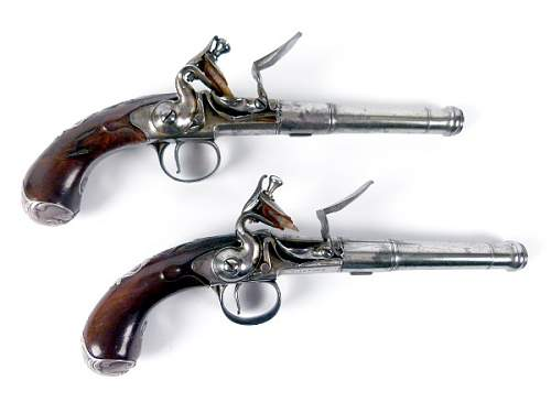 Click image for larger version.  Name:1 'Queen Anne'  Flintlock Pistols.jpg Views:196 Size:54.9 KB ID:579239
