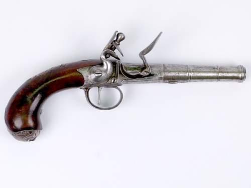 1700s British Flintlock Pistol