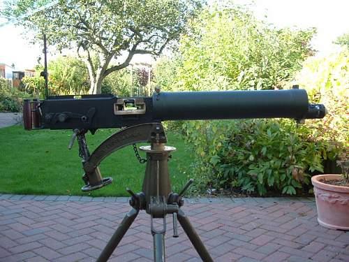 1942 Lithgow Vickers Machine Gun