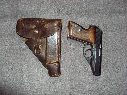 German Mauser Pistol with Matching Holster