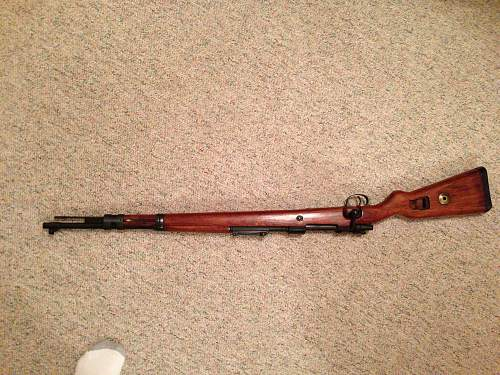 Opinions on this Mauser Mod. 98