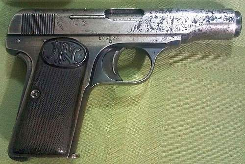 Picked Up A Browning (FN) 1910 w/ Holster & Capture Paper!