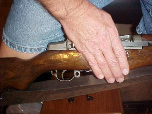 My M1 Garand Rifle