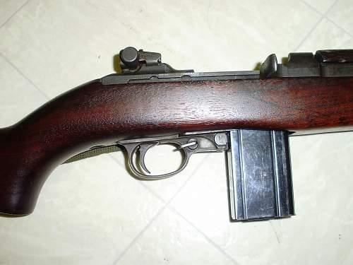 My M1 Carbine General Motors ind