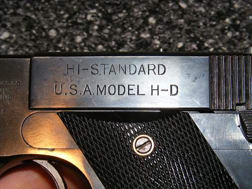 US Marked High Standard HD Military