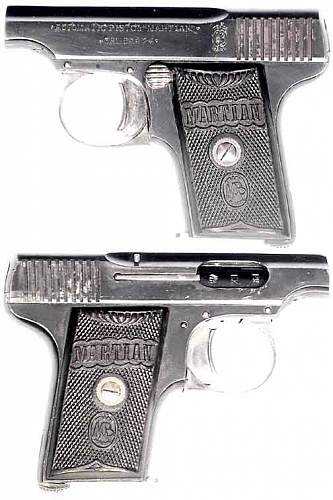 'MARTIAN' 6.35mm Auto Pistol