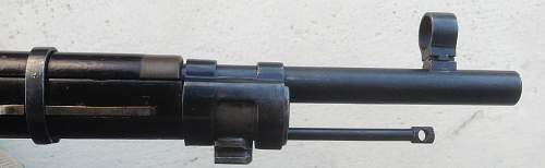 Soviet Simonov Trials rifle 1936...