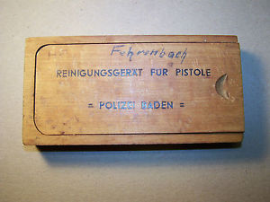 field police, ss, gestapo luger/P38 equipment/transport case