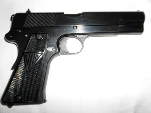 German Occupation Viz 35 Pistol