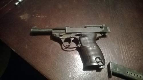Walther P38 Political Grip
