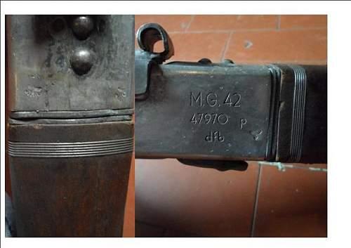 MG 42 identification