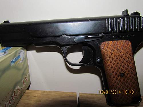 My new Tokarev Pistol