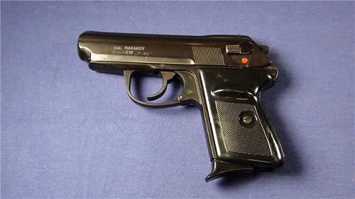 Deact. Radom P-64 9mm pistol?