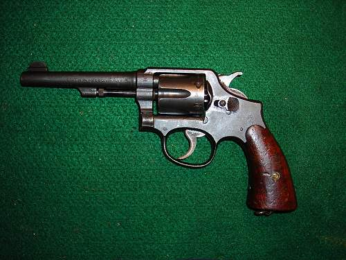 Colt New Service Revolver in .455 cal