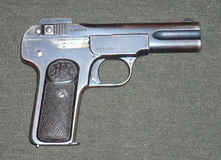 Picked up A Rare WWI German Pistol Today!