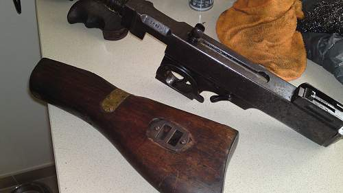 Weapons restoration and preservation thread