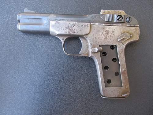 exactly 100 years ago J.M.Browning received this pistol, and it was nearly scrapped