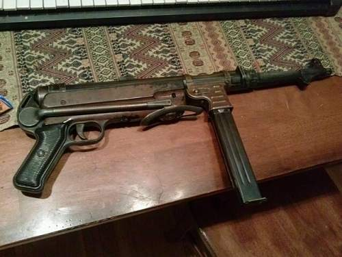 Deactivated MP40