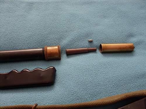 Lee Enfield .22 air rifle,