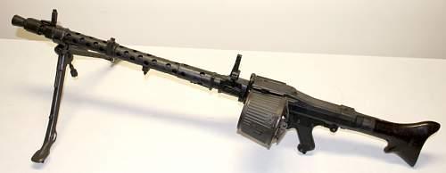 Machine guns collection.