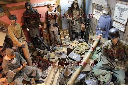 Panzerschreck, Panzerfaust, mines etc.