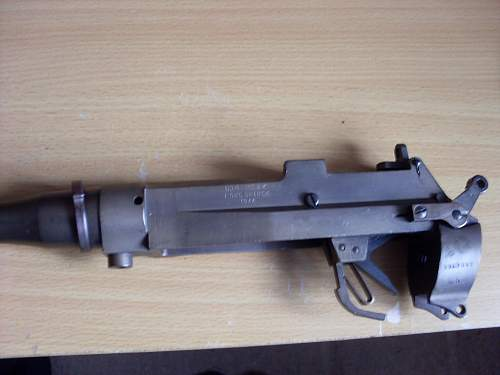 Click image for larger version.  Name:Lee enfield stripped rifle. 2 001.jpg Views:260 Size:50.1 KB ID:654522