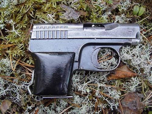 VIS pistole from Karelien Urwald