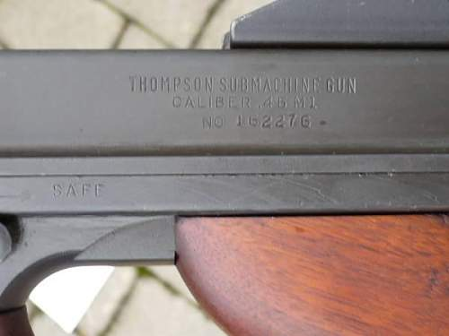 Thompson serial number help.
